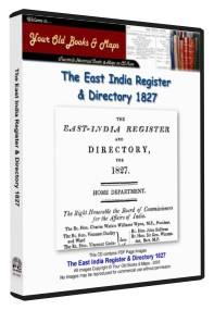 East India Register & Directory 1827