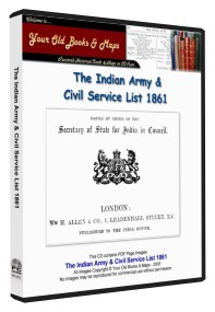 Indian Army & Civil Service List 1861