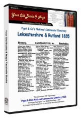 Pigot's Directory of Leicestershire & Rutland 1835