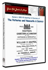 Keates's Directory of the Staffordshire Potteries, Newcastle & District 1893